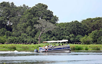river nile boat cruise, murchison falls